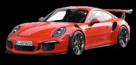 Red Porsche 911 GT3 RS 4 Car PNG