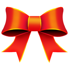 Red Bow PNG