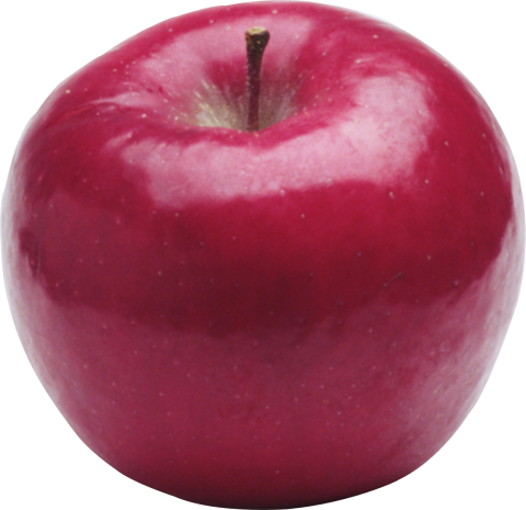 Red Round Apple PNG