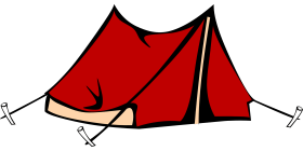 Red Tent PNG