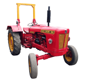 Red Tractor PNG