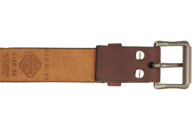 Red Wing Shoes Belt Oro Legacy Pioneer Buckle PNG