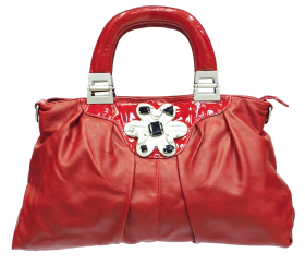 Red Women Bag PNG