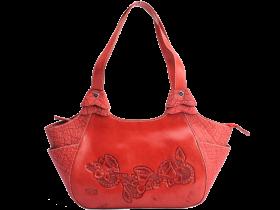 Red Women Bag PNG