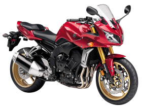 Red Yamaha FZ1 PNG