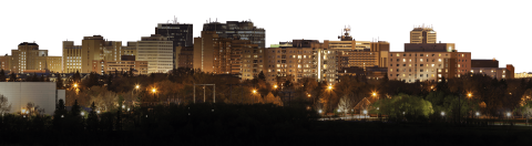 Regina City Skyline PNG