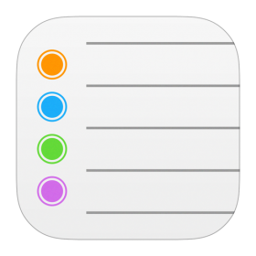 Reminders Icon iOS 7 PNG