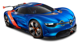 Renault Alpine A110 50 Racing Car PNG