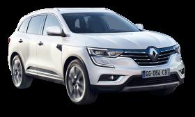Renault Koleos White Car PNG