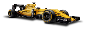 Renault RS16 Formula 1 Race Car PNG