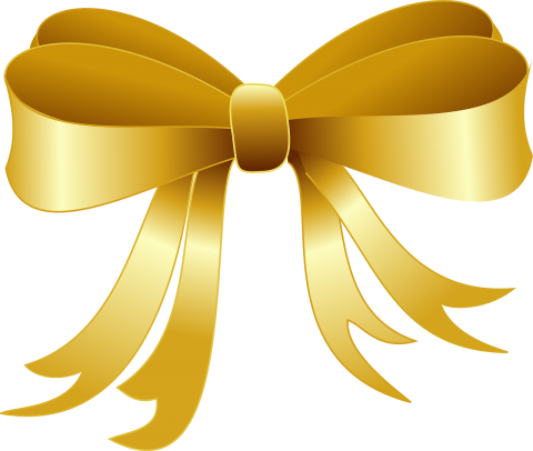Golden Ribbon PNG