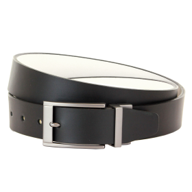 Ridlington Belt - Black & White PNG