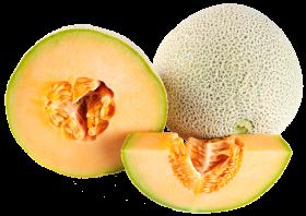 Ripe Cantaloupe Melon PNG