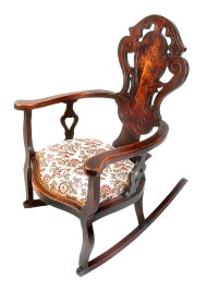 Rocking Old Chair PNG