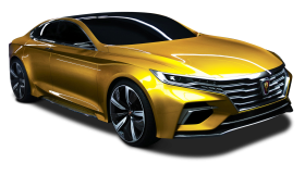 Roewe Vision R Concept Golden Color Car PNG
