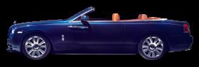 Rolls Royce Dawn Blue Car PNG