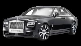 Rolls Royce Ghost Black Car PNG