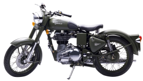 Royal Enfield Classic 500 Green PNG