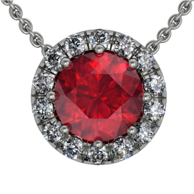 Ruby Pendant PNG