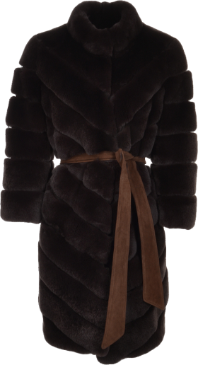 Sable Fur Jacket Monique PNG