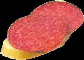Salami Bread PNG