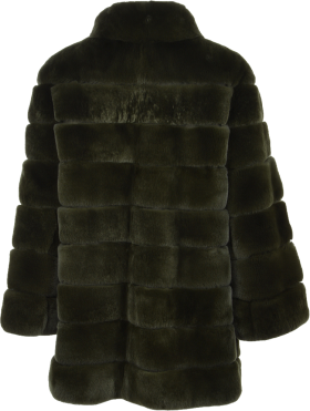 Salomon Womens Fur Coat Back Side PNG