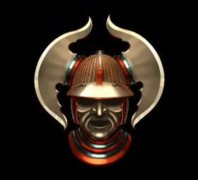 Samurai Mask PNG
