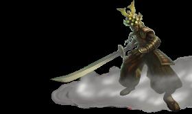 Samurai Master YI Skin PNG