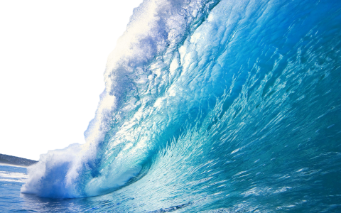 Sea With Wave PNG