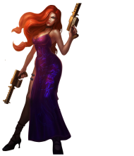 Secret Agent Miss Fortune Skin PNG