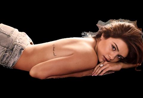 Selena Gomez without Bikini PNG