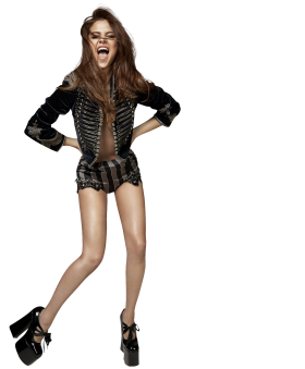 Selena Gomez In Shorts PNG