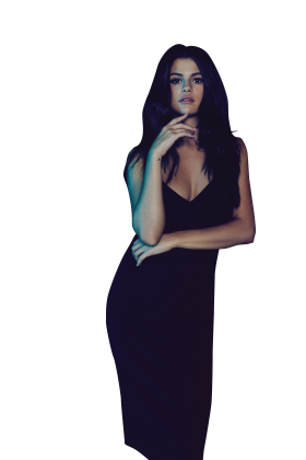 Selena Gomez Looking Attractive PNG
