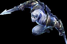 Shockblade Zed Skin PNG
