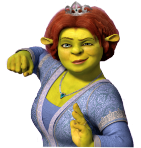 Shrek Fiona PNG