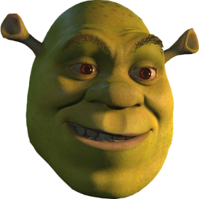 Shrek Head PNG