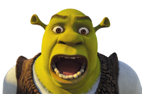 Shrek Scream PNG