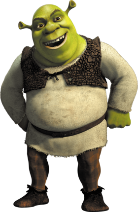 Shrek Smile PNG