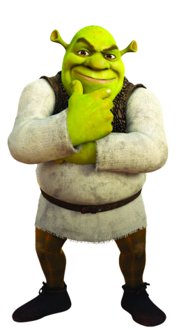 Shrek Thinking PNG