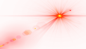 Side Red Lens Flare PNG