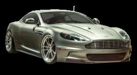 Silver Aston Martin DBS Car PNG