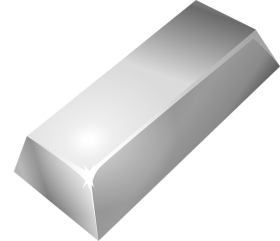 Silver Bar PNG
