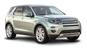 Silver Land Rover Discovery Sport Car PNG