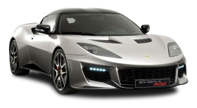 Silver Lotus Evora 400 Car PNG