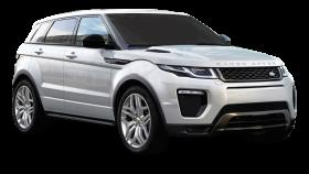 Silver Range Rover Evoque Car PNG
