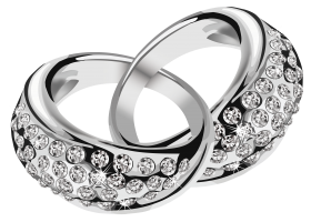 Silver Rings PNG