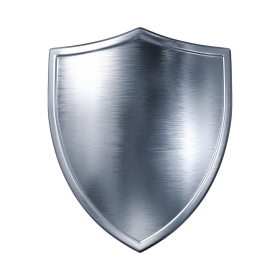 Silver Shield PNG