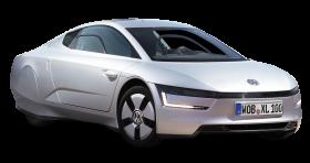 Silver Volkswagen XL1 Car PNG