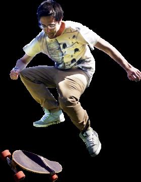 Skating Trick PNG