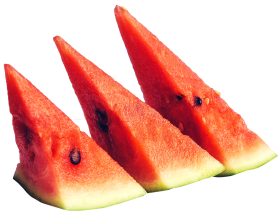 Sliced Ripe Watermelon PNG